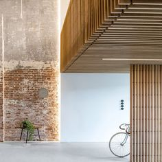 """World Architecture Community on Instagram: """"Firm architects @firmarchitects has converted an old warehouse into an office space by combining old brick walls with glass and steel and…"""""""