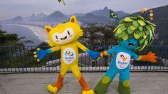 Les mascottes des JO 2016 au Brésil - http://www.actusports.fr/125528/les-mascottes-des-jo-2016-au-bresil/