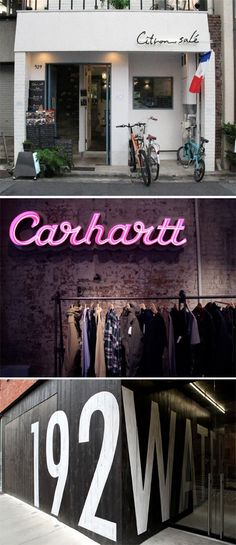 Retail Signage Roundup  Rena Tom / retail strategy, trends and inspiration for creative businesses
