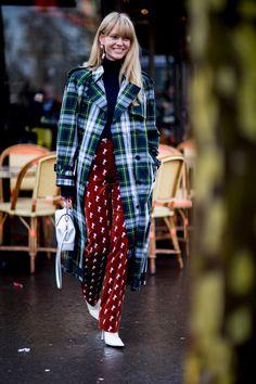 Paris Fashion Week Fall 2018 street style