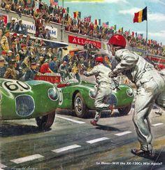 - Les Mans Start - Hommage a' Reynold Brown   http://www.oldtimer.ag