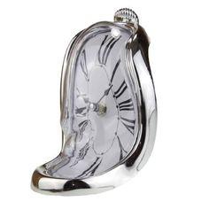 Dali Clock, Darth Vader, Silver, Gifts, Bags, Men, Fictional Characters, Handbags, Presents