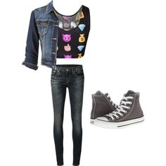Nameless by alannaxjonnesx on Polyvore featuring polyvore, fashion, style, maurices, R13 and Converse