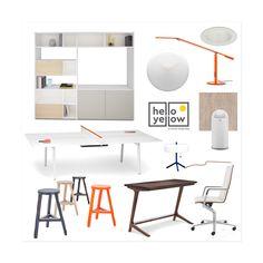 Office Desk, Interior Design, Yellow, Blog, Furniture, Home Decor, Nest Design, Desk Office, Decoration Home