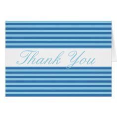#stylish - #Blue Striped with Lite White Line Card
