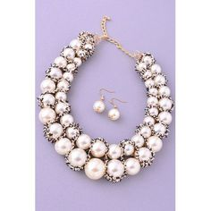 2 Broke Girls Pearls and Ice set only $42.00 at - http://www.lookoftheday.com !!!!