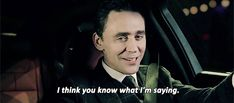 I actually don't know what he's saying because I'm dead. (gifset)