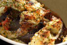 L'Eau à la Bouche © Ana Luthi Tous droits réservés  Aubergines Gratinées au Fromage de Brebis