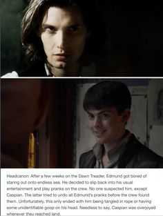 I wish Edmund had stayed his cunning self even after going to the good side.<<CS Lewis DIDNT REWRITE his character Narnia Movies, Narnia 3, Edmund Pevensie, Lucy Pevensie, Memes, Chronicles Of Narnia, Cs Lewis, Book Fandoms, Book Nerd