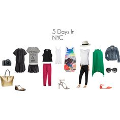 From Carpools to Cocktails: What To Pack: 5 Days in NYC