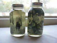 Vintage mason jar pictures!