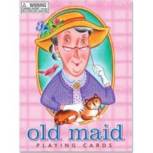 Match up the cards, but don't get stuck with the Old Maid.