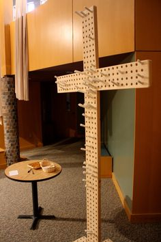 prayer station, possibly leave one, take one?