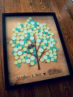 Alternative Wedding Guest Book Tree Guestbook  by CForiginal, $150.00