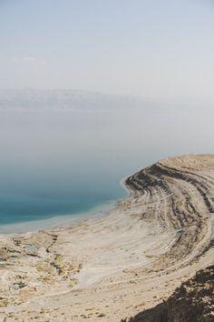 Israël : la mer Morte et ses paysages lunaires. - Paris tu Paris