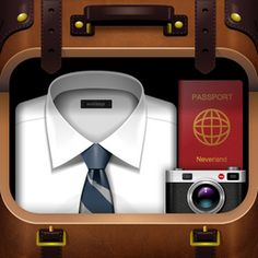 My Travel Bag iOS App Icon