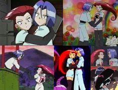 Jessie and James hug