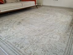 Floral Bedroom, Rectangle Area, Natural Area Rugs, Oushak Rugs, Small Area Rugs, Cotton Silk, Hand Knotted Rugs, Rustic Style