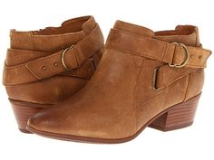Clarks Spye Belle in Brown Leather -- I still want a pair of booties...  I should have snagged the pair I saw last season!  :o)