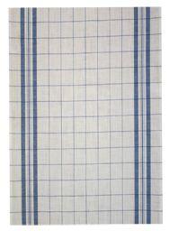 "Wholesale Linen Window Pane Toweling, hemmed 18"" wide, blue, red , green, yellow."