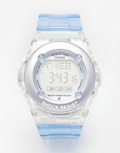 Reloj digital azul Baby G de Casio