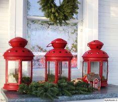 kynttilälyhdyt,kasvihuone,havukoristelut,joulukoristelut,istutuspöytä