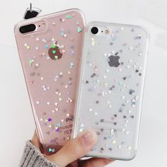 Crystal Glitter Powder Shining Cover for iphone 7 and 7 Plus #iphone6cases, #iphone7pluscase