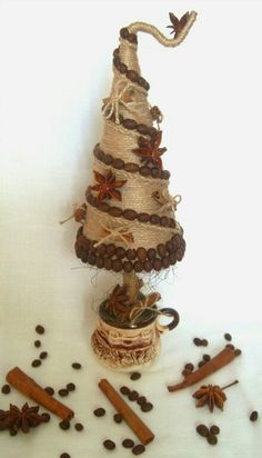 17 Best ideas about Primitive Country Jewelry Christmas Tree, Christmas Accessories, Mini Christmas Tree, Diy Christmas Gifts, Xmas Tree, Christmas Tree Decorations, Christmas Holidays, Yule Crafts, Christmas Crafts