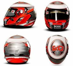 Kevin Magnussen's 2014 Helmet