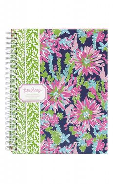 Lilly Pulitzer Mini Notebook in Trippin and Sippin #lilly #lillypulitzer