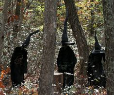 Some of the best Halloween decorating I've ever seen. Grim Hollow Haunt: Shadow of the Witch Halloween Prop, Halloween Outside, Halloween Yard Decorations, Outdoor Halloween, Spirit Halloween, Fall Halloween, Halloween Stuff, Halloween Witches, Halloween Table