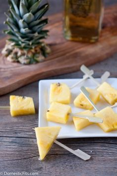 Boozy, Rum-Soaked Pineapple Pops
