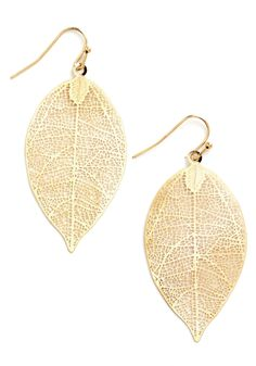 You're Frond to Something Earrings   Mod Retro Vintage Earrings   ModCloth.com