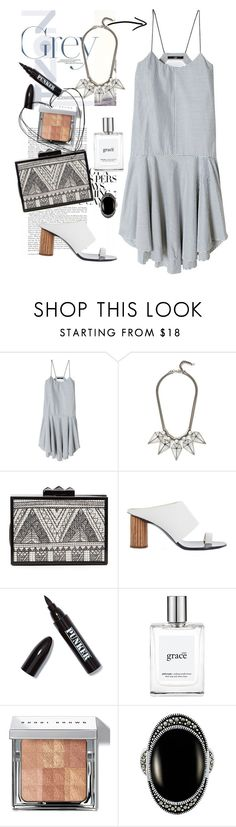 """grey's anatomy"" by mplusk ❤ liked on Polyvore featuring TIBI, Rebecca Minkoff, Proenza Schouler, Ardency Inn, philosophy and Bobbi Brown Cosmetics"