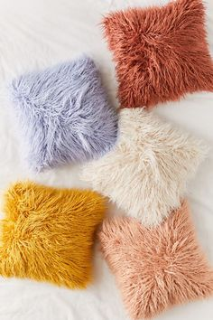 Shop Mila Faux Fur Throw Pillow at Urban Outfitters today. We carry all the latest styles, colors and brands for you to choose from right here. Cute Pillows, Fur Throw Pillows, Faux Fur Throw, Floor Pillows, Faux Fur Pillows, Fluffy Pillows, Fleece Throw, Velvet Duvet, Velvet Pillows