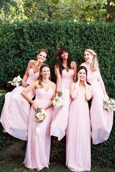 Plus Size Long Bridesmaid Dresses 2015 Pink Sweetheart Sleeveless A Line Floor Length Chiffon Custom Made Bridesmaid Gowns