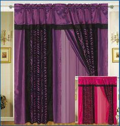 Stephanie Country Ruffle Priscilla Curtains Pair 86 Inch