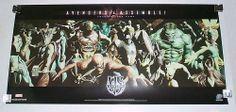 Alex Ross Marvel Avengers poster: Spider-man/Thor/Hulk/Captain America/Iron Man