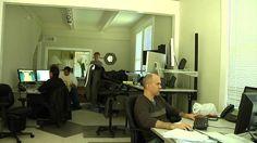 Office with standing desk time-lapse Vanity, Desk, Space, Furniture, Home Decor, Dressing Tables, Floor Space, Powder Room, Desktop