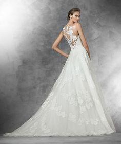 PLANIA Vestido de noiva (corte em A) | Pronovias | Pronovias