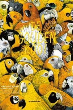 Supermooi prentenboek! (^PJ) De gouden kooi -  Anna Castagnoli illustrations by Carll Cneut Meer weten over dit boek? >> http://www.bzof.nl/catalogus.catalogus.html?q=de+gouden+kooi+of+het+waargebeurde+verhaal+van+de+