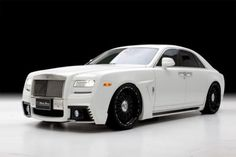 Rolls-Royce Ghost Black Bison package