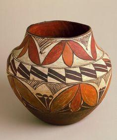 Vessel, Artist Unknown (United States) New Mexico. MIA