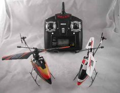 A knockoff that is low cost that burns the sky in light wind. 4CH 2.4GHz Mini RC Helicopter V911 RTF