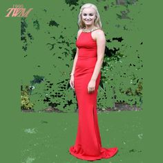 Fashion Red Long Prom Dress