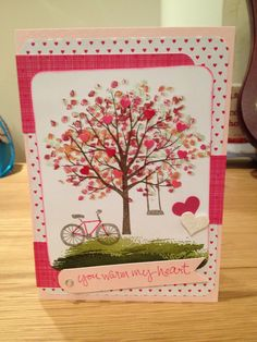 Sheltering Tree Polymer Stamp Set from Stampin Up.