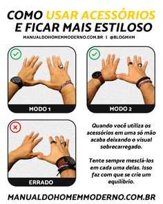 Como usar acessórios e ficar mais estiloso Men Tips, Men Style Tips, Preppy Mens Fashion, Boy Fashion, Face Shape Sunglasses, How To Wear Rings, Masculine Style, Well Dressed Men, Mens Clothing Styles
