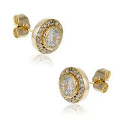 Boucles d'oreilles femme, plaqué or. #LeManegeABijoux