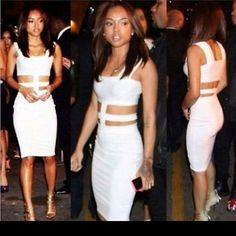 Cute dress size small looks amazing on White dress size small spandex Dresses