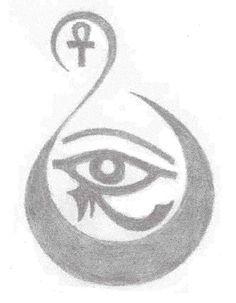 Egyptian Eye Icon